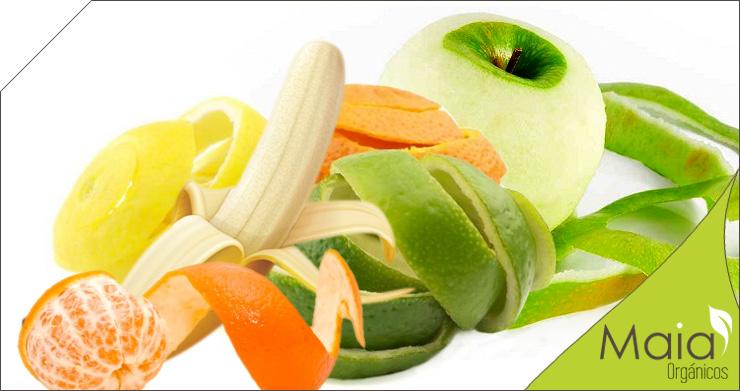 Comer frutas con cáscara