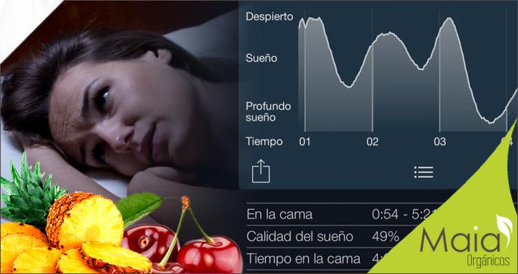 Alimentos para conciliar el sueño
