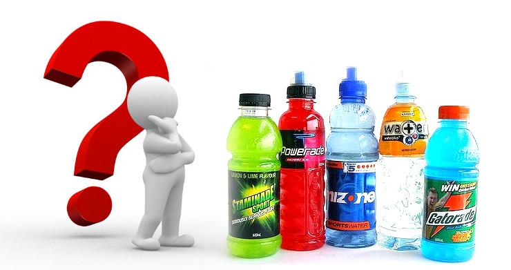 bebidas energeticas, mala opcion para reponer Minerales que perdemos al sudar