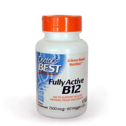 Frasco de Vitaminas B12