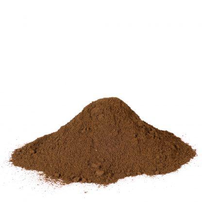 ajo negro en polvo